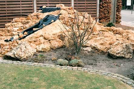 Rotsblokken Voor Tuin : Gentians be articles werken met rotsen in een tuin dutch